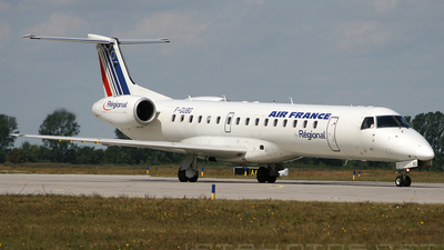 F-GUBG - Embraer ERJ-145MP - Air France (Régional Compagnie Aerienne)