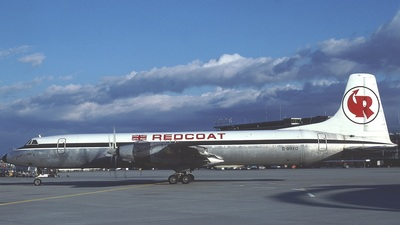 G-BRED - Canadair CL-44 - Redcoat Air Cargo