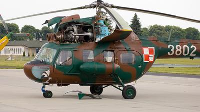 3802 - PZL-Swidnik Mi-2 Hoplite - Poland - Air Force