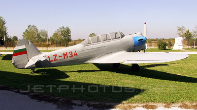 LZ-M34 - Lazarov LAZ-7M - Bulgaria - Air Force