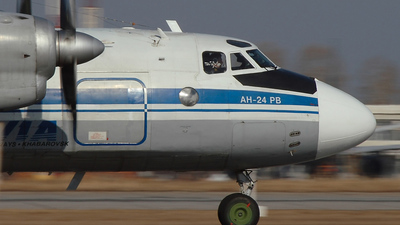 RA-46522 - Antonov An-24RV - Dalavia - Far East Airways