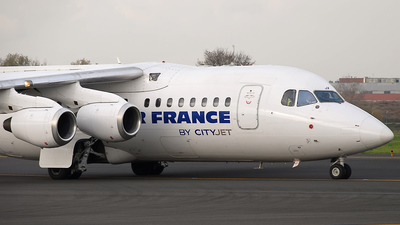 EI-RJX - British Aerospace Avro RJ85 - Air France (CityJet)