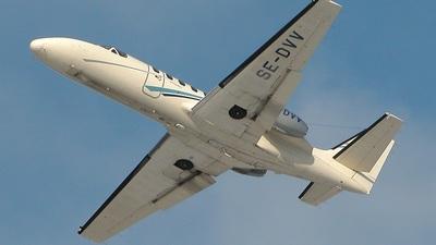 SE-DVV - Cessna 550 Citation II - Private