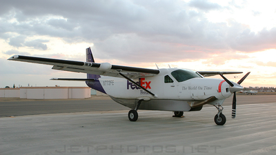N772FE - Cessna 208B Super Cargomaster - FedEx Feeder (West Air)