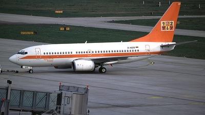 D-AGEO - Boeing 737-75B - LTU (Germania)