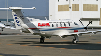 VH-FMF - Pilatus PC-12/45 - Royal Flying Doctor Service of Australia (Central Section)