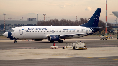 EI-CUA - Boeing 737-4K5 - Blue Panorama Airlines