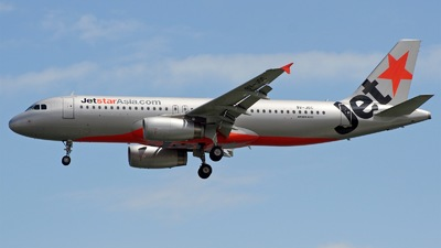 9V-JSC - Airbus A320-232 - Jetstar Asia Airways