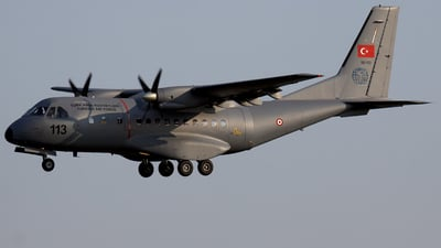 113 - CASA C-235 - Turkey - Air Force