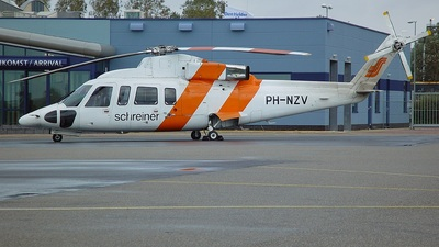PH-NZV - Sikorsky S-76B+ - Schreiner Northsea Helicopters