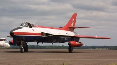 G-ETPS - Hawker Hunter FGA.9 - Private
