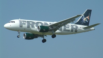 N913FR - Airbus A319-111 - Frontier Airlines