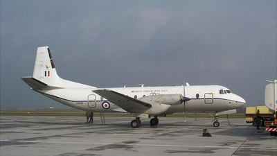 XS596 - Hawker Siddeley Andover C.1PR - United Kingdom - Royal Air Force (RAF)
