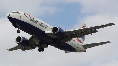 G-LGTG - Boeing 737-3Q8 - British Airways