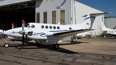 ZS-ASB - Beechcraft B200 Super King Air - Private