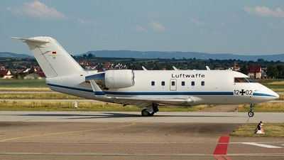 12-02 - Bombardier CL-600-2A12 Challenger 601 - Germany - Air Force