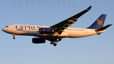 5B-DBT - Airbus A330-243 - Cyprus Airways