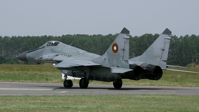 18 - Mikoyan-Gurevich MiG-29A Fulcrum - Bulgaria - Air Force