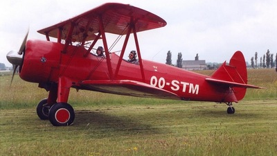 OO-STM - Boeing A75N Stearman - Private