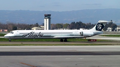 N954AS - McDonnell Douglas MD-82 - Alaska Airlines