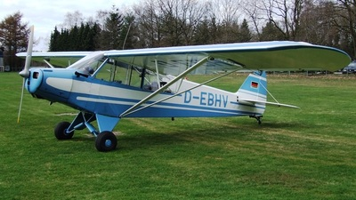 D-EBHV - Piper PA-18-95 Super Cub - Private