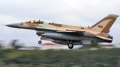 891 - Lockheed Martin F-16I Sufa - Israel - Air Force