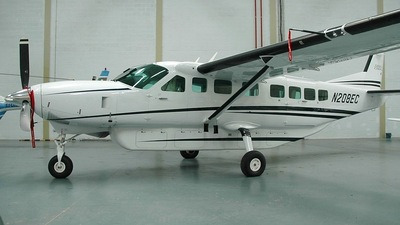 N208EC - Cessna 208B Grand Caravan - Private