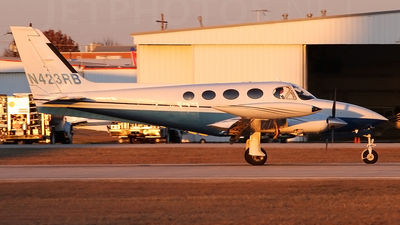 A picture of N423RB - Cessna 340A - [340A1270] - © Jonathan Morgan