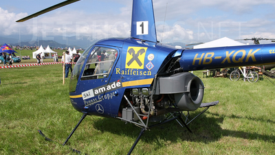 A picture of HBXQK - Robinson R22 Beta II - [2757] - © Borut