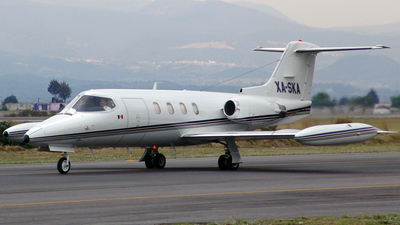 XA-SKA - Gates Learjet 25D - Private