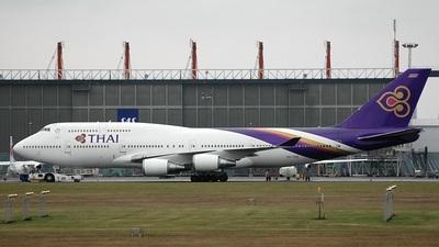 HS-TGZ - Boeing 747-4D7 - Thai Airways International
