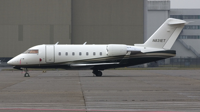 A picture of N831ET - Bombardier Challenger 604 - [5451] - © Freek Blokzijl