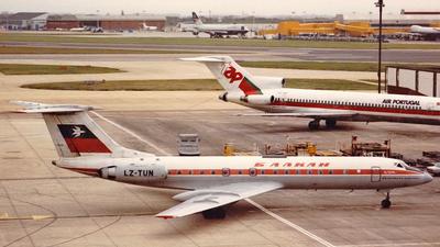 LZ-TUN - Tupolev Tu-134A-3 - Balkan Bulgarian Airlines