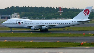 JA8154 - Boeing 747-246B - Japan Asia Airways (JAA)
