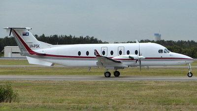 VH-PSK - Beech 1900D - Australia - Queensland Government