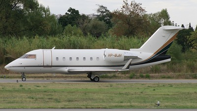 VP-BJH - Bombardier CL-600-2B16 Challenger 604 - Private