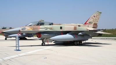 497 - Lockheed Martin F-16I Sufa - Israel - Air Force