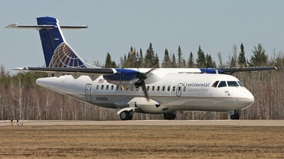 N14834 - ATR 42-320 - Continental Connection (Cape Air)