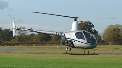 G-BYIE - Robinson R22 Beta II - Untitled