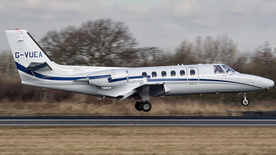 G-VUEA - Cessna 550 Citation II - Private