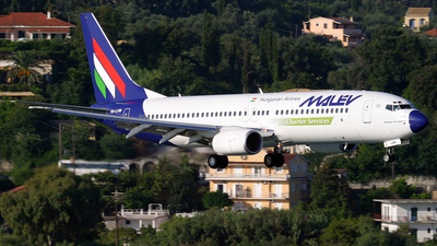 HA-LOM - Boeing 737-8Q8 - Malév Hungarian Airlines