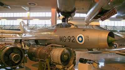 MG-92 - Mikoyan-Gurevich MiG-21F-13 Fishbed C - Finland - Air Force