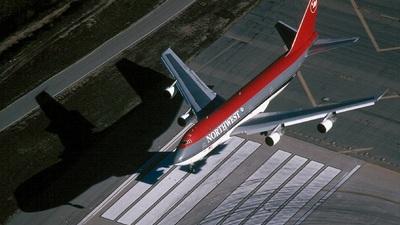 N632US - Boeing 747-251B - Northwest Airlines