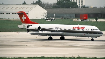 HB-IVF - Fokker 100 - Swissair