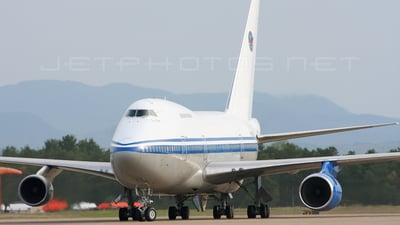 N747UT - Boeing 747SP-J6 - Private