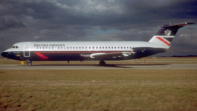 G-AXJM - British Aircraft Corporation BAC 1-11 Series 501EX - British Airways