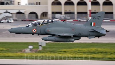A3480 - British Aerospace Hawk Mk.132 - India - Air Force