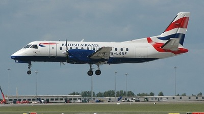 G-LGNF - Saab 340B - British Airways (Loganair)