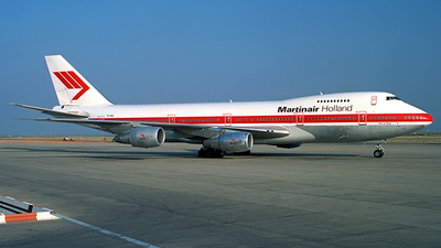 PH-MCE - Boeing 747-21AC(SCD) - Martinair Holland