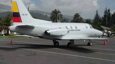 FAE-043 - Rockwell Sabreliner 40 - Ecuador - Air Force